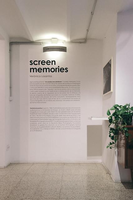 Inauguración 'Screen Memories', Verónica Losantos