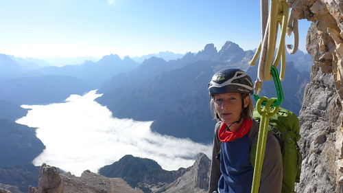 Drei Zinnen en Sextener Dolomieten, Klettersteigtocht