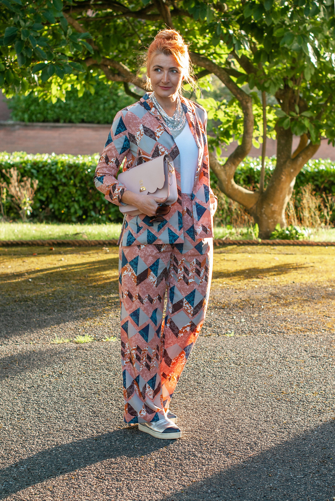 How to Style a Patterned Pyjama Suit: Not Dressed As Lamb, over 40 fashion and style