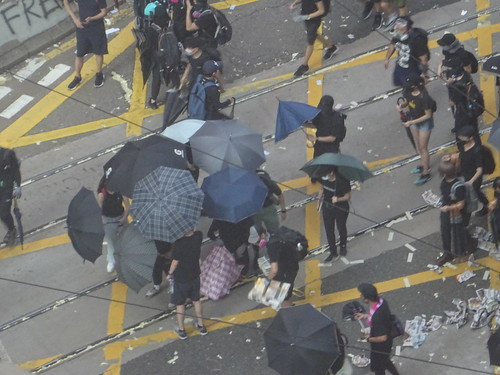Hongkong Protests - 70th Anniversary China