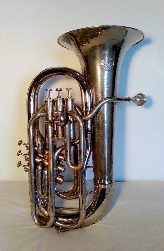 Tuba Francesa French Tuba Tuba Français Saxhorn Oscar Abella Mahillon Oscar Abella