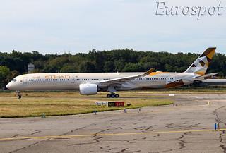 F-WXAD Airbus A350-1000 Etihad