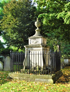 William Hogarth's Tomb In St Nicholas' Churchyard, Chiswick - London.