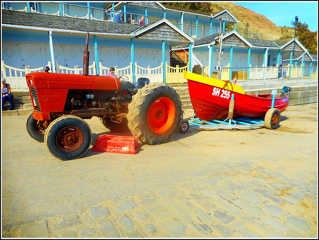 Tractor and Boat ...