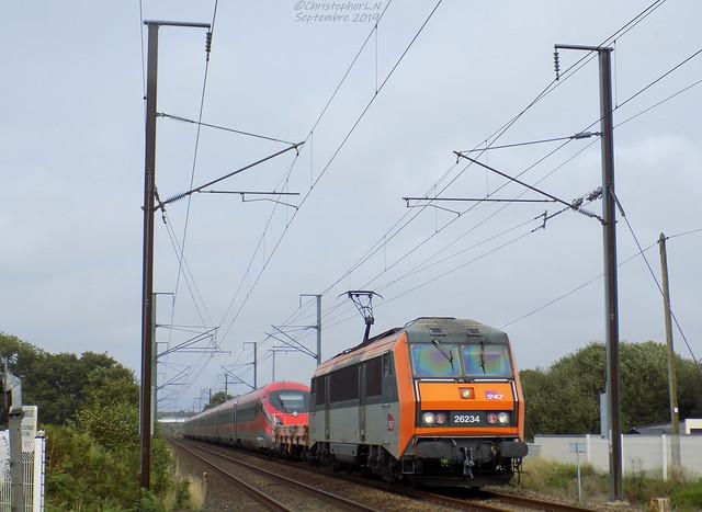 BB 26234 Béton + ETR 1000 n°25 (Zéfiro)