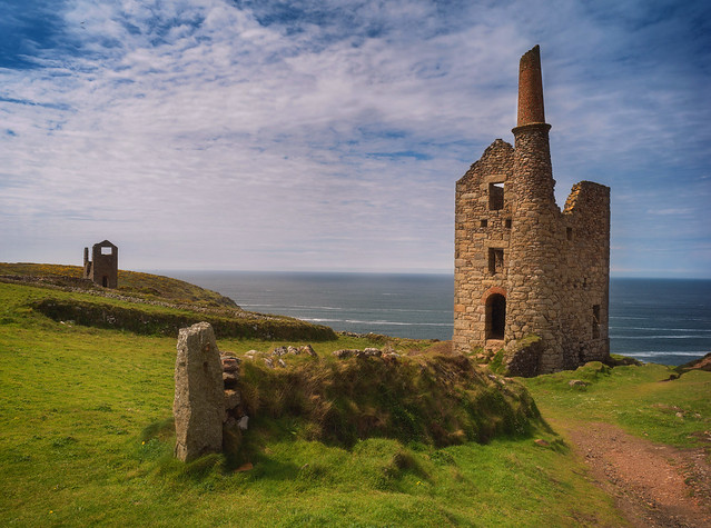 Coastal tin mine. Explored.
