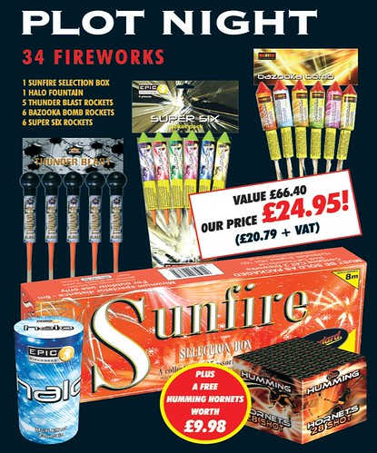 Plot Night Garden Fireworks Pack #EpicFireworks