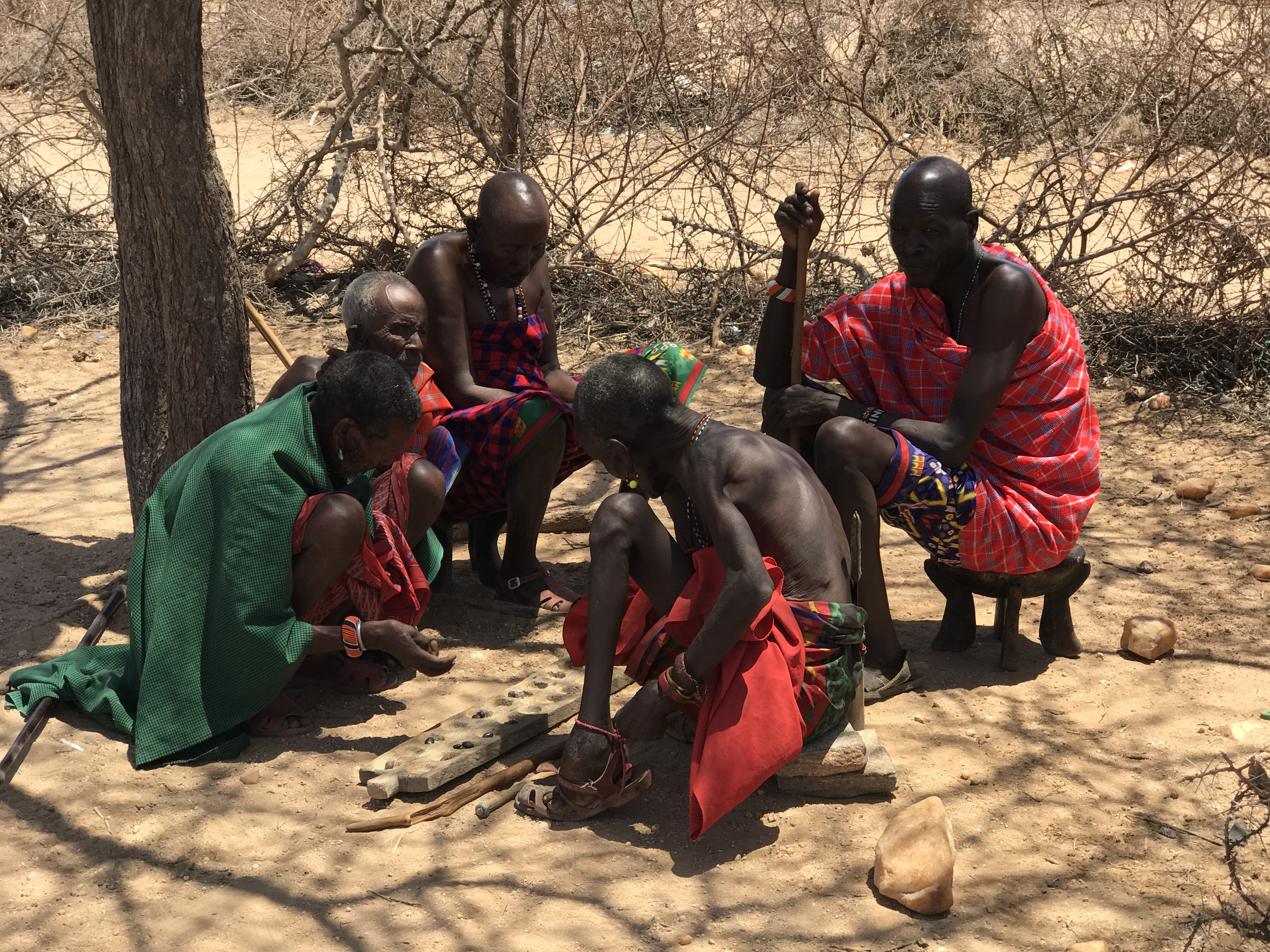 Samburu elders