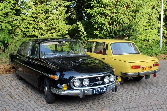 1970 Tatra 603 and 1982 Wartburg 353
