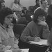 Students in a Sociology Class, 1989.