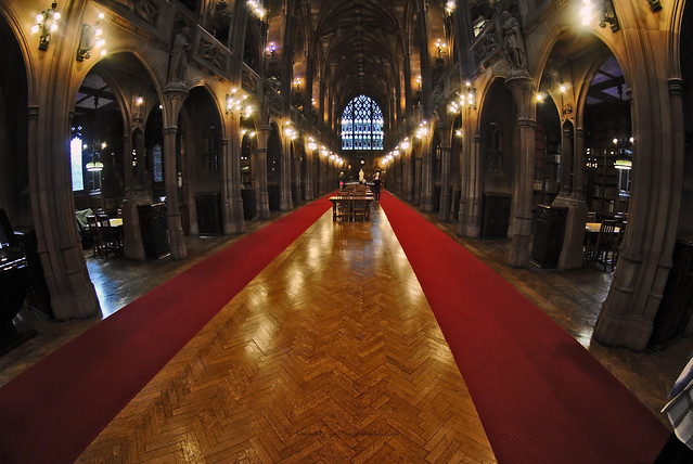 Rylands Library, Manchester.