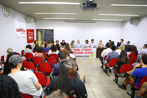 Audiência pública para discutir sobre o ensino democrático nas escolas públicas do Município - Comissão de Direitos Humanos e Defesa do Consumidor