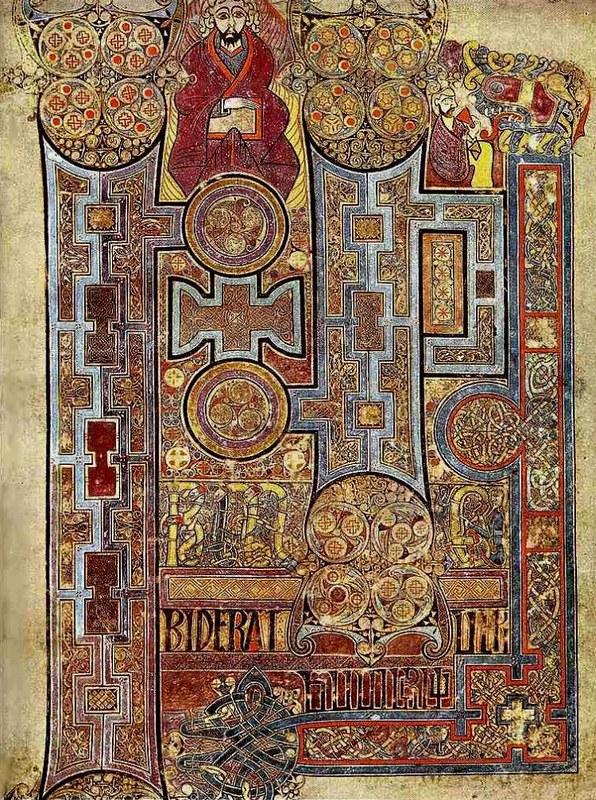 26 Келлская книга (Четвероевангелие) около 800 г