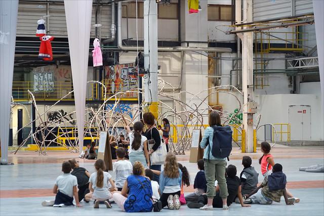 La 15è Biennale d'art contemporain (usines Fagor, Lyon)