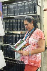 Valentina Santa Cruz, bibliotecóloga con amplia experiencia profesional