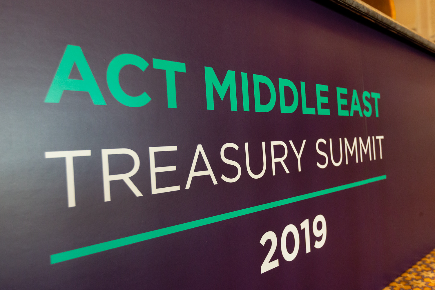 ACT Middle East Treasury Summit 2019
