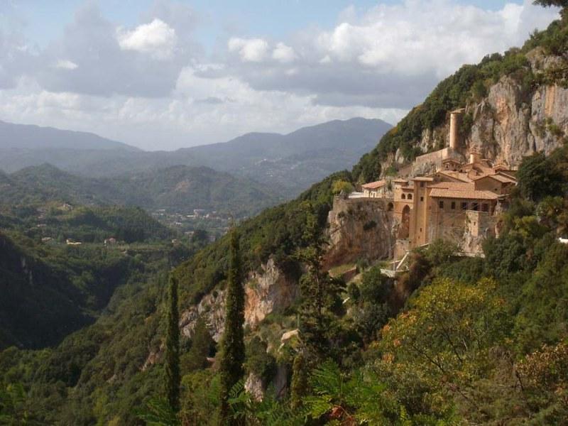 02 Монастырь св. Бенедикта в Субиако Италия
