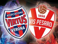 Virtus Verona - Vis Pesaro le interviste