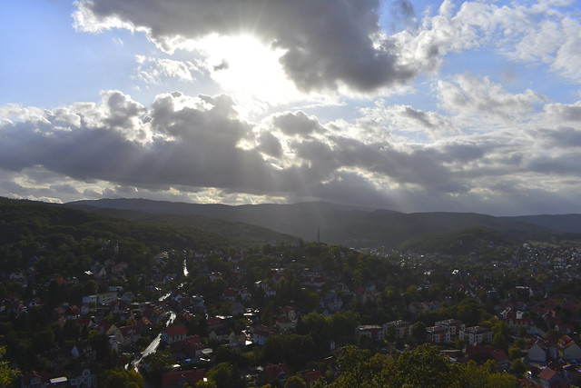 Heaven Over Wernigerode