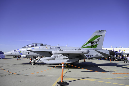EA-18G of the Black Ravens
