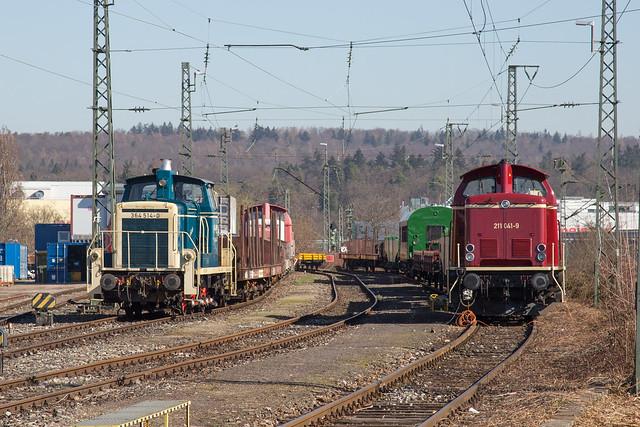 Rangierlokomotiven, ELBA Logistik GmbH