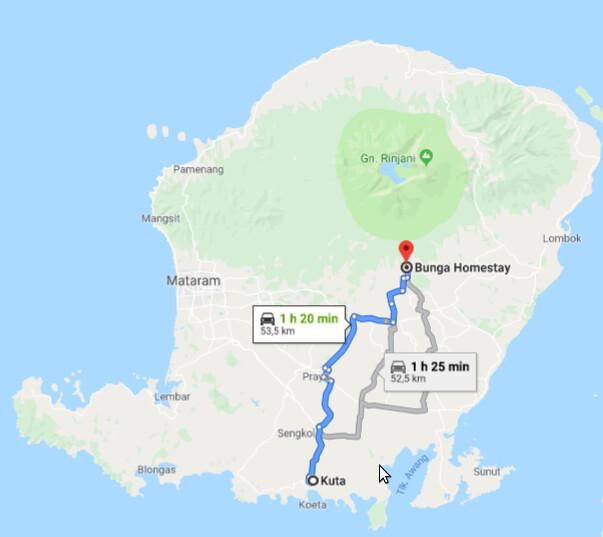 Lombok. Visita a Tetebatu: arrozales y más