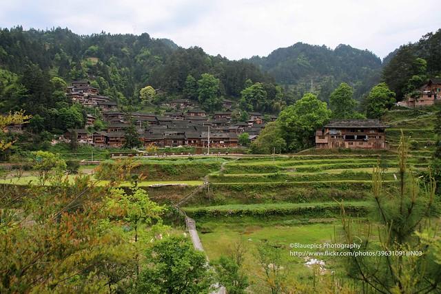 Kaili, upper Langde Miao village