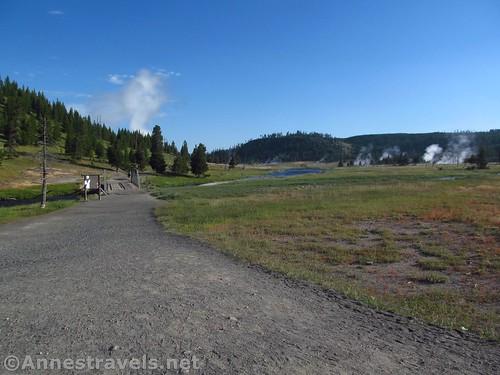 Fairy Falls Trailhead, Yellowstone National Park, Wyoming