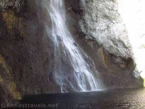 Bast of Fairy Falls, Yellowstone National Park, Wyoming