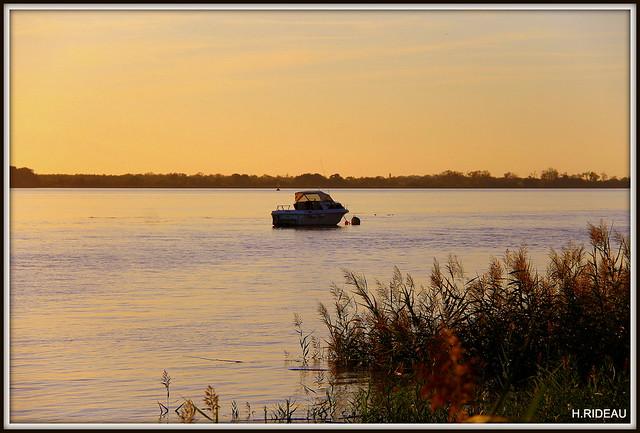 Les couleurs du soir  (Estuaire de la Gironde)