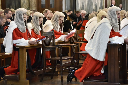 Lawyers and judges gather for Red Mass
