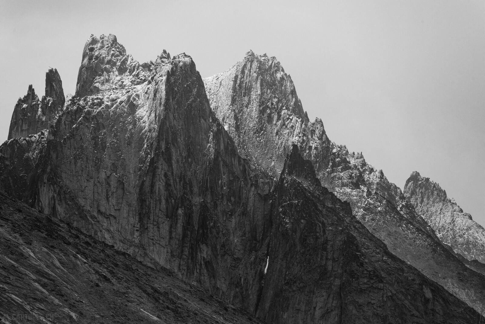 Snowy peaks - Tasermiut