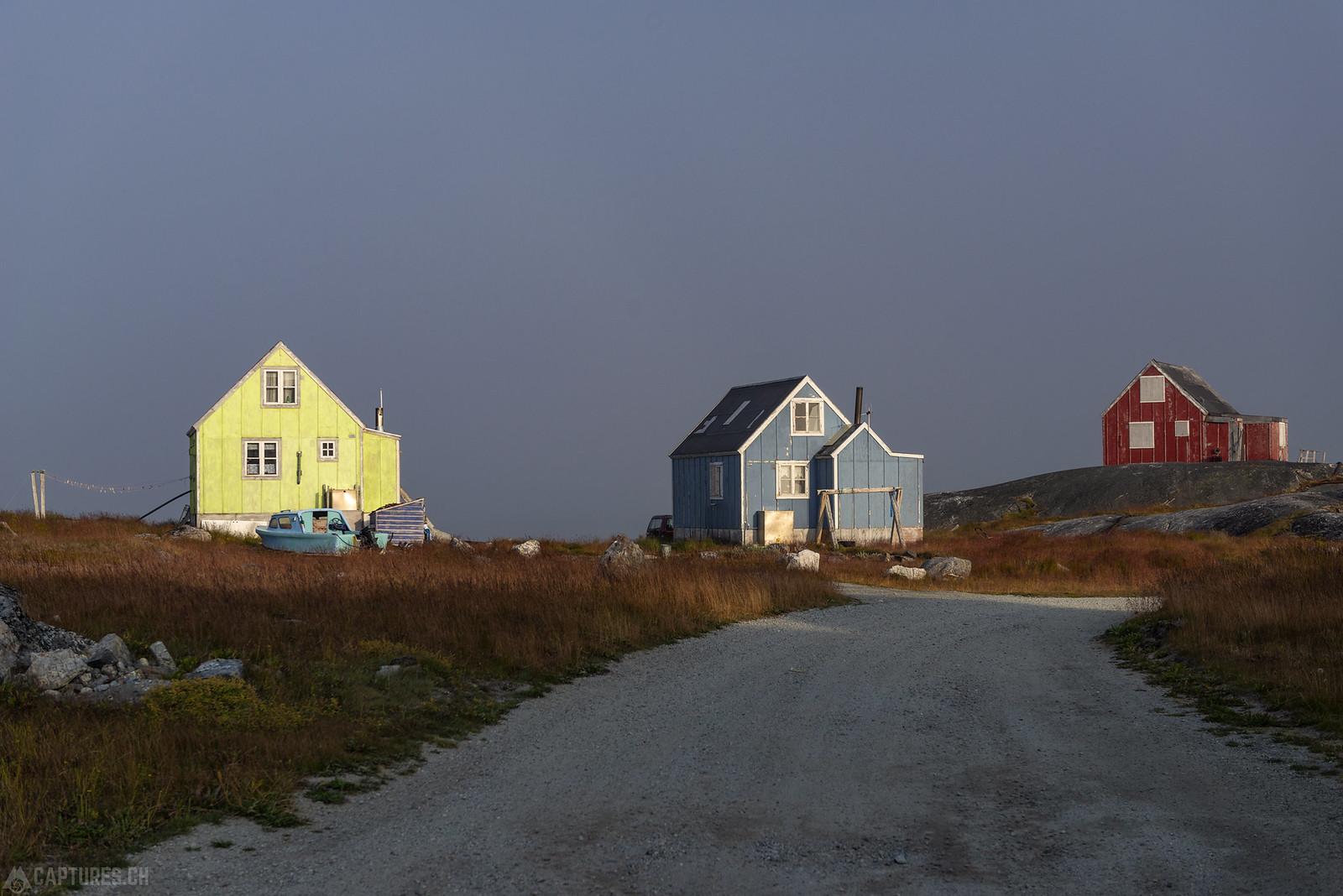 Colorful houses in Nanortalik - Nanortalik