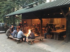 Abendanlass bei den Jägern