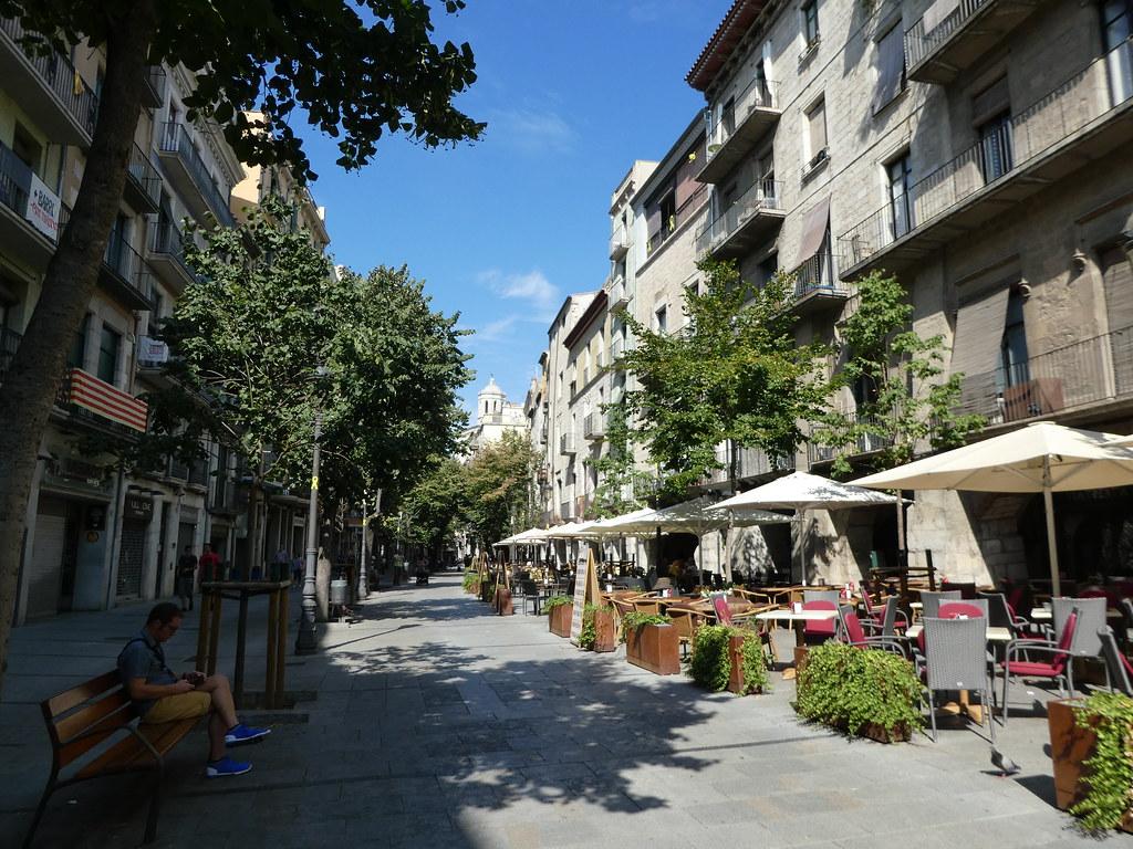 Rambla Libertat, Girona