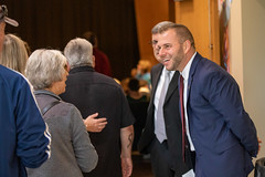 WATERTOWN - State Representative Joe Polletta joined Lt. Governor Susan Bysiewicz, Department of Veterans Affairs Commissioner Thomas Saadi, State Senator Eric Berthel, and local officials and families at Swift Middle School to honor Vietnam Veterans in Watertown.