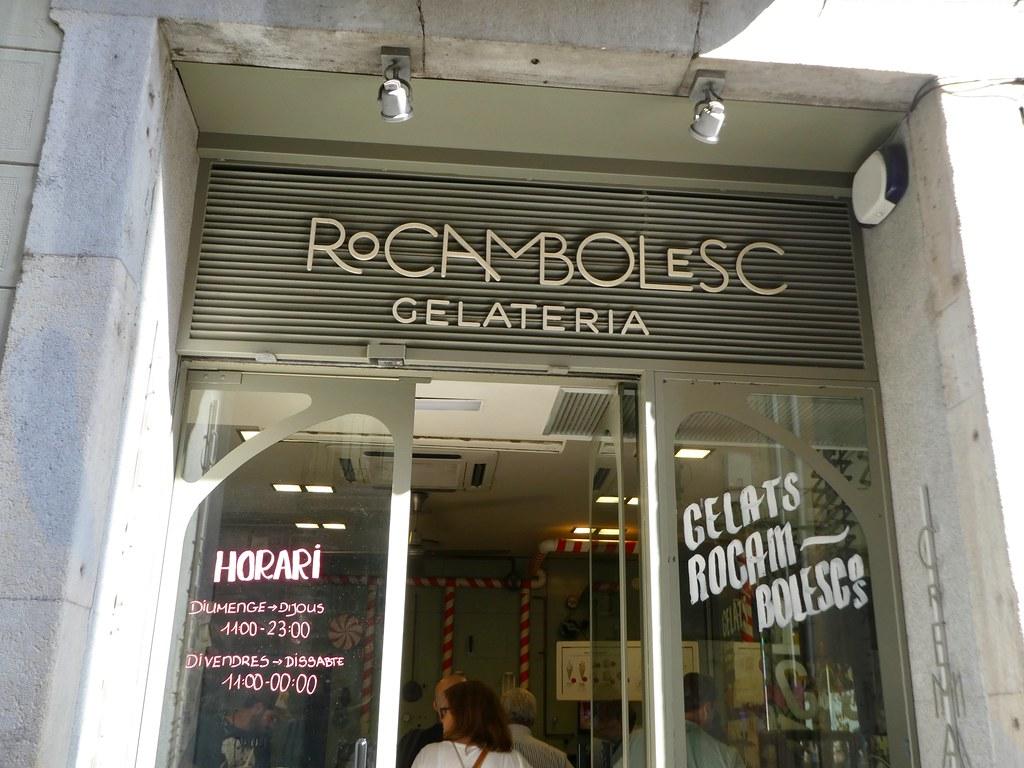 Rocambolesc Gelateria. Girona