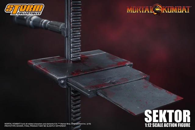 渴望權力的野心家!STORM COLLECTIBLES《真人快打》「瘋狂終結者」塞克特 Sektor(Mortal Kombat – SEKTOR Action Figure)