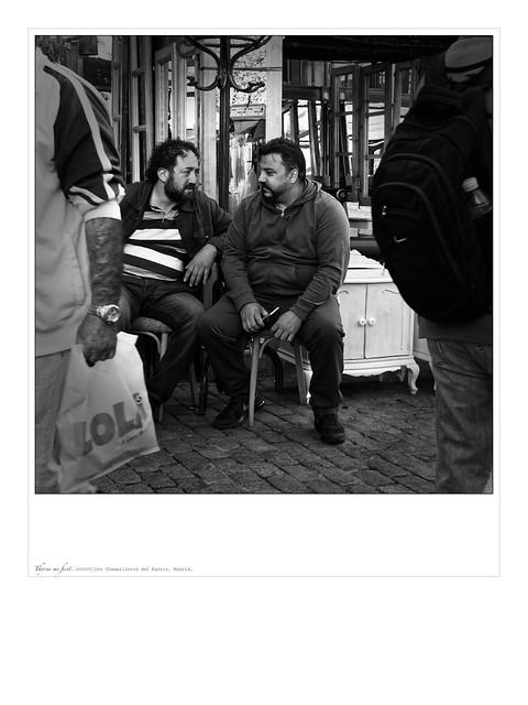 Junk dealers. Dos chamarileros del Rastro. Madrid, 2019.