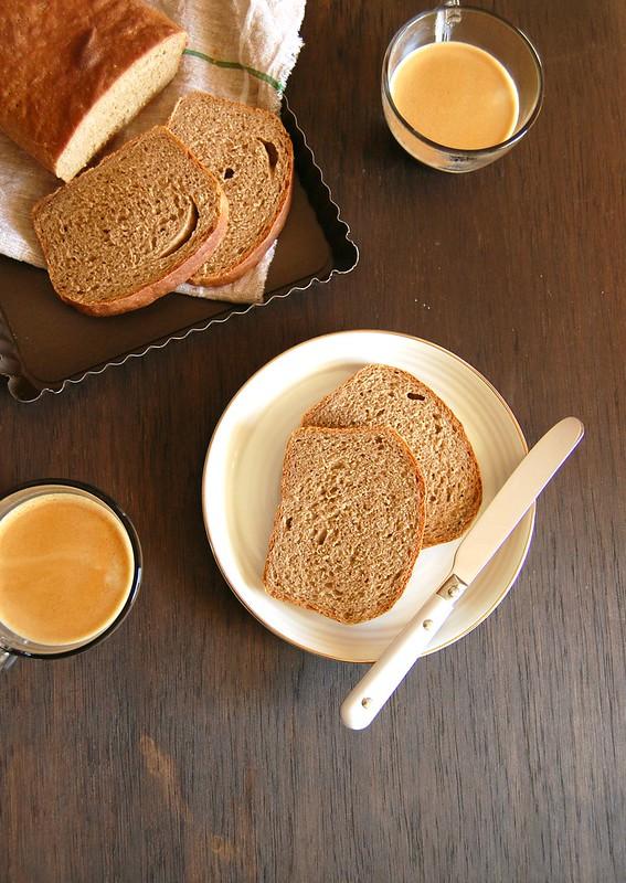 Pão de forma de centeio