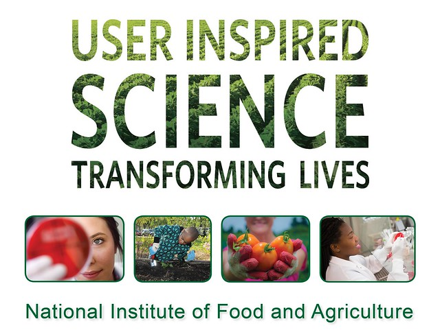 User Inspired Science Transforming Lives NIFA graphic