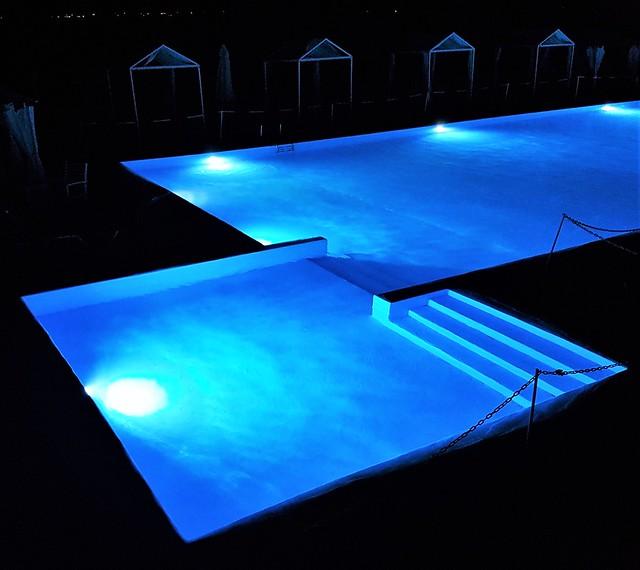 Pool Nightlights - Hotel Bianco Olympico