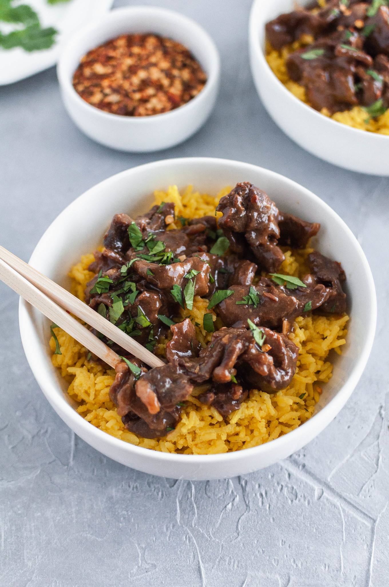 Instant Pot Thai Beef is a super simple dinner you need this week. Less than 30 minutes needed for this super flavorful Thai Beef.