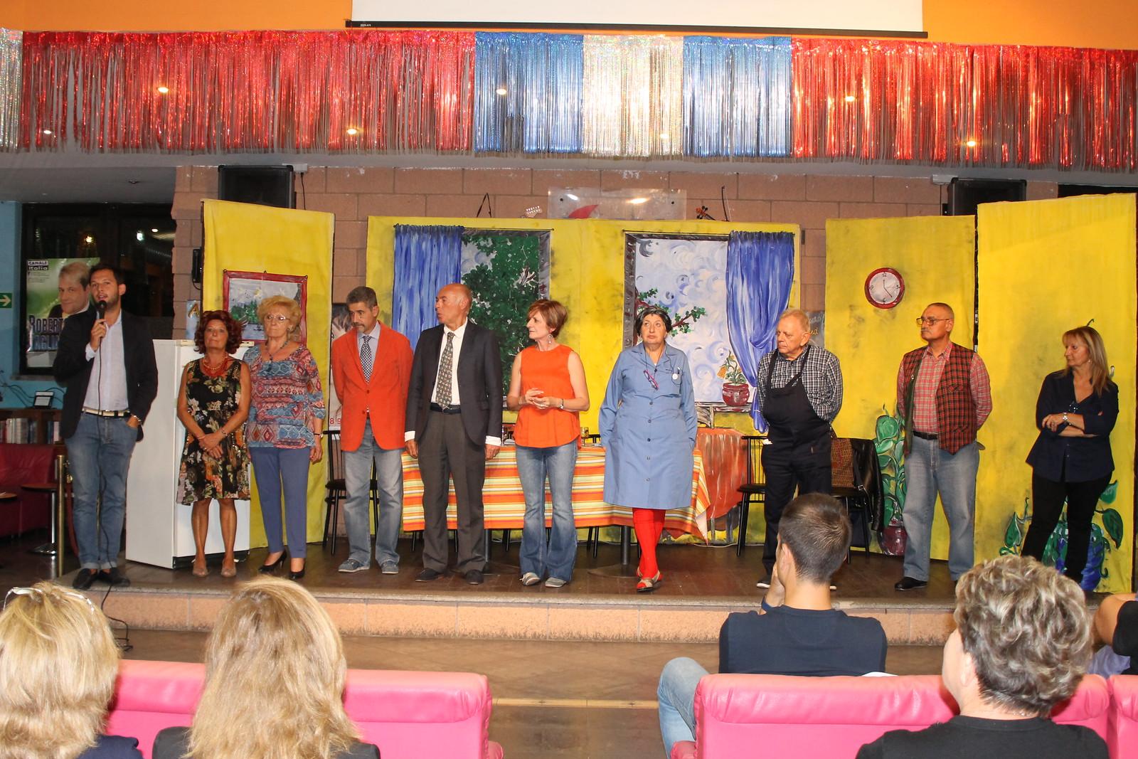 La Compagnia del Teatro Instabile di Sesto Ulteriano diverte e fa divertire!