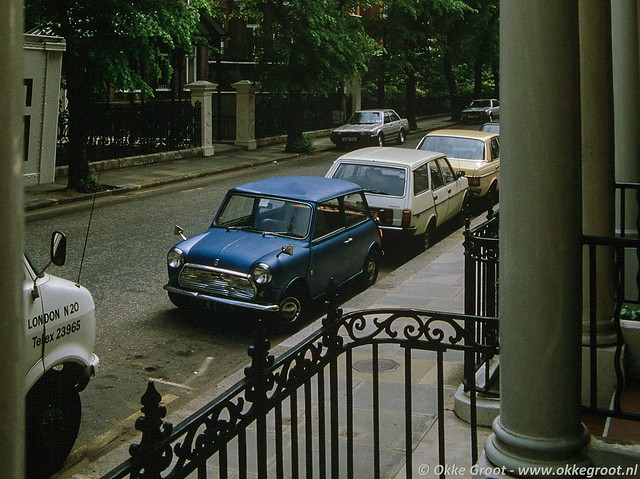 Londen, mei 1985