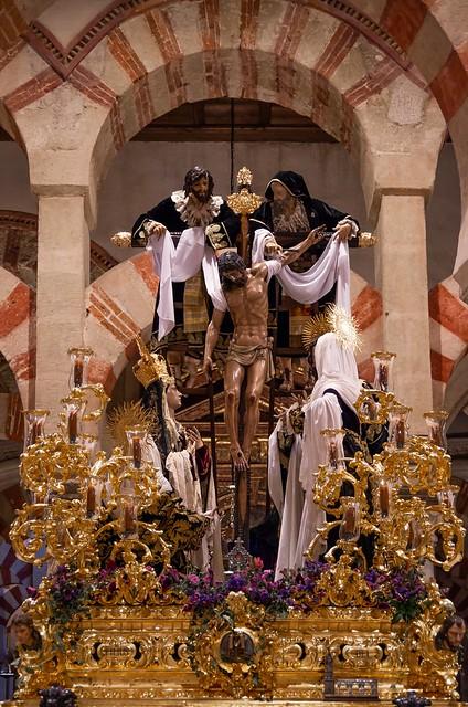 Exposición Magna de Córdoba en el interior de La Mezquita Catedral. 22-09-2019.