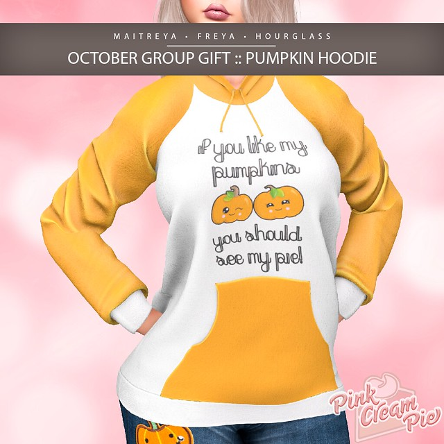 October Group Gift :: Pink Cream Pie
