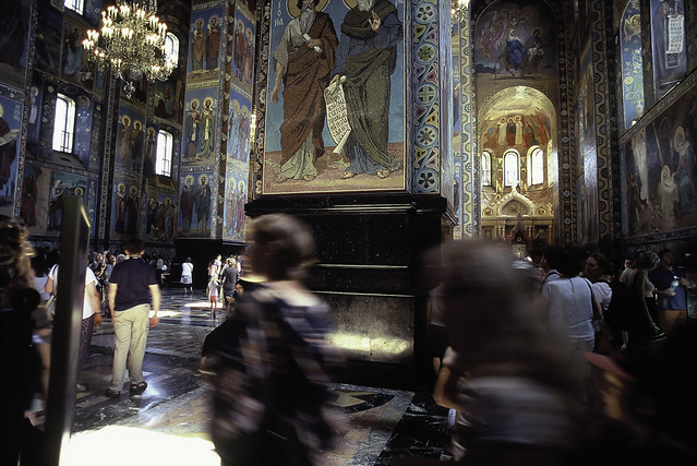 Church of the Spilled Blood, St Petersburgh,