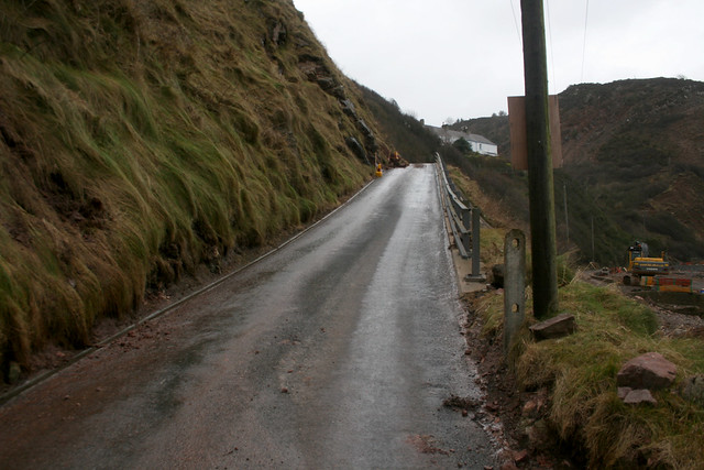 The road out of Burnmouth