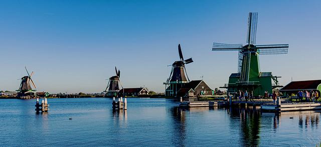 AMSTERDAM-Molinos de viento